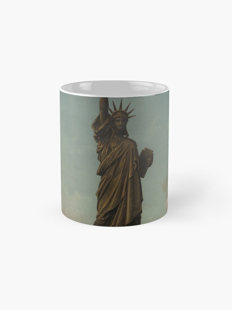 Vista alternativa de Taza Statue of Liberty Artwork