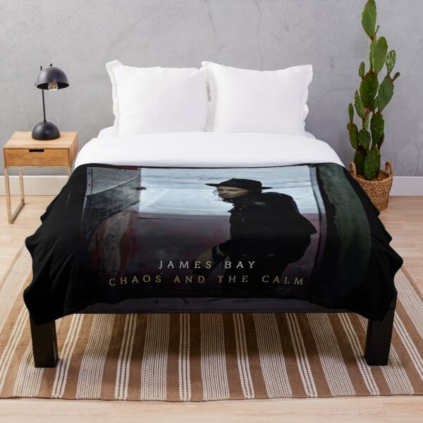 Chaos and the Calm of James Bay Throw Blanket