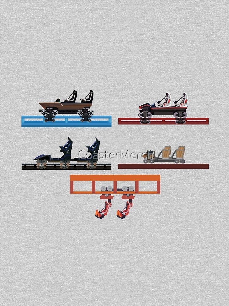 Energylandia Coaster Cars 2020 by CoasterMerch