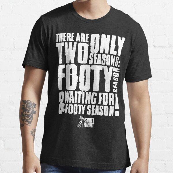 Two Seasons: White on Black Essential T-Shirt