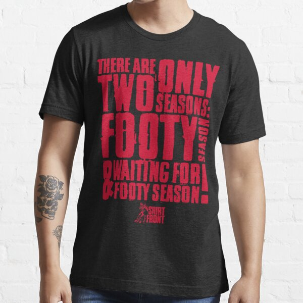 Two Seasons: Red on Black Essential T-Shirt