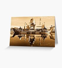 HISTORIC MOSQUE Greeting Card
