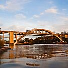 The Oregon City Bridge by Bryan D. Spellman