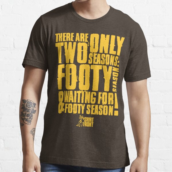 Two Seasons: Gold on Brown Essential T-Shirt
