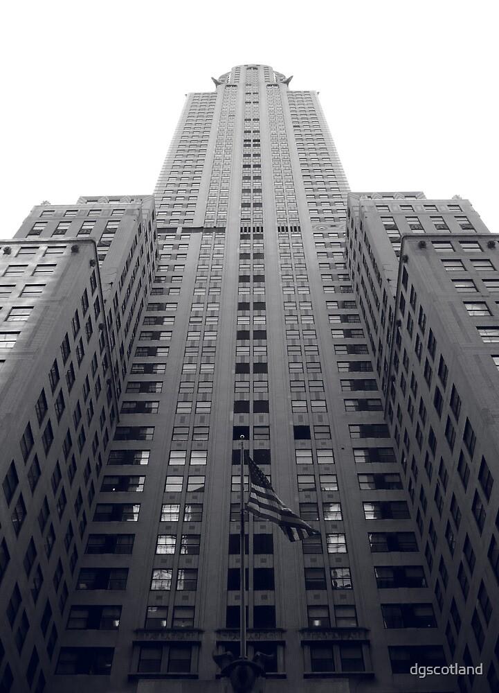 Chrysler Building Duotone by dgscotland