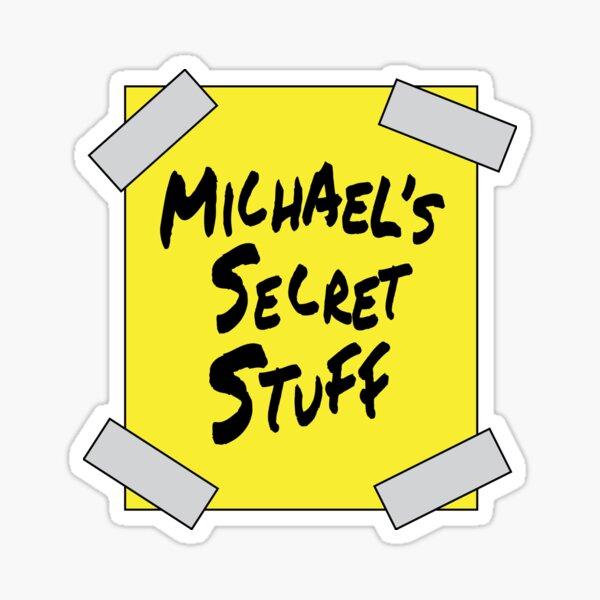 Michael's Secret Stuff  Sticker