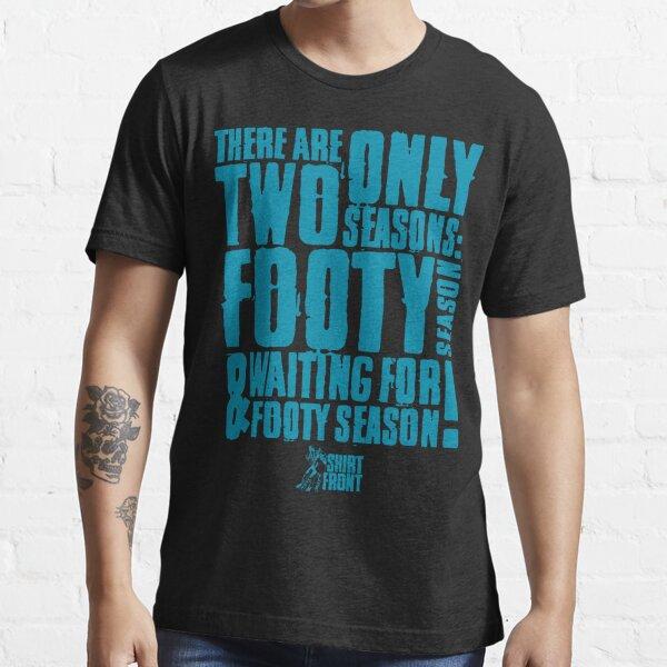 Two Seasons: Teal on Black Essential T-Shirt