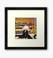 Coffee Shop Framed Print