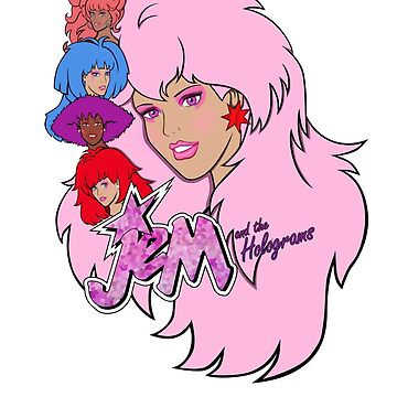 Jem and the Holograms by evobs