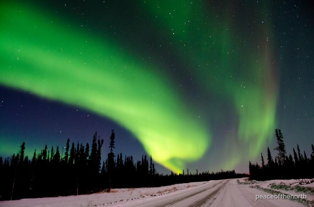 The Auroras Sky by peaceofthenorth