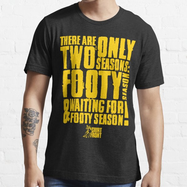 Two Seasons: Yellow on Black Essential T-Shirt