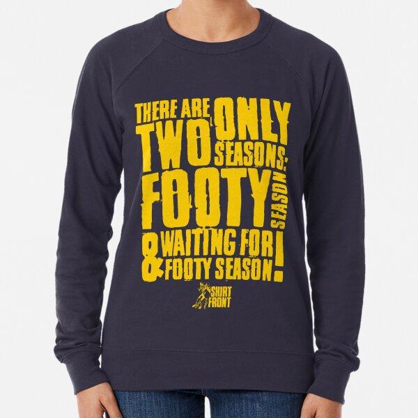 Two Seasons: Yellow on Navy Lightweight Sweatshirt
