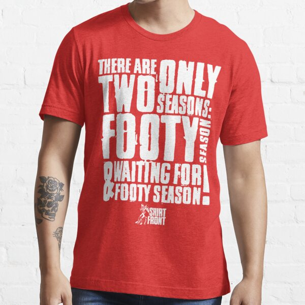 Two Seasons: White on Red Essential T-Shirt