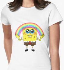 SpongeBobs Imagination Women's Fitted T-Shirt