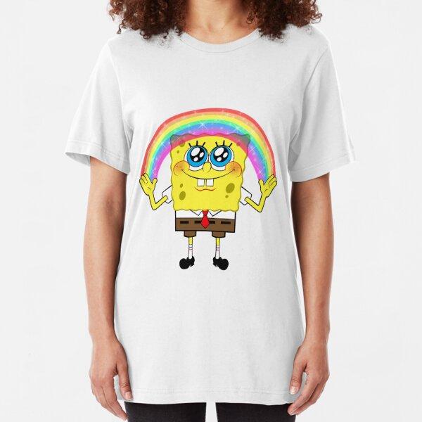 SpongeBobs Imagination Slim Fit T-Shirt