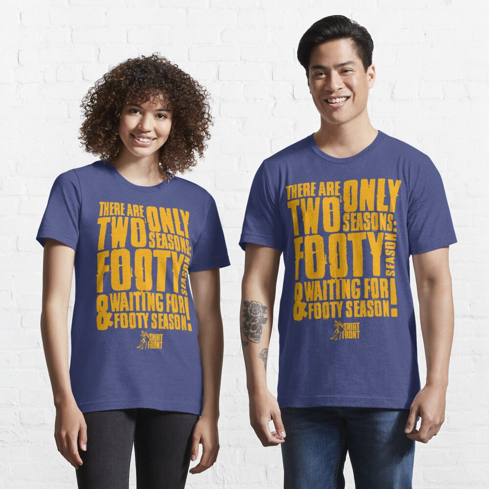 Two Seasons: Gold on Blue Essential T-Shirt