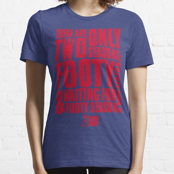 Two Seasons: Red on Blue Essential T-Shirt