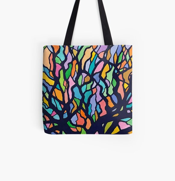 Intersections All Over Print Tote Bag