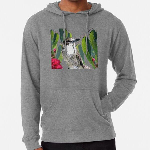 The Pied Butcherbird Lightweight Hoodie