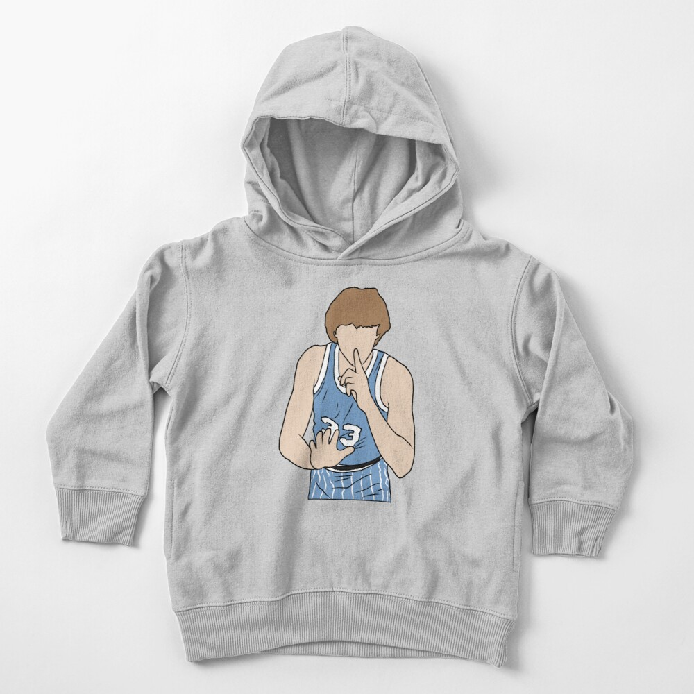 Larry Bird Indiana State Toddler Pullover Hoodie