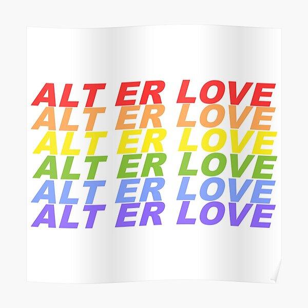 SKAM 'Alt Er Love' EVAK Poster