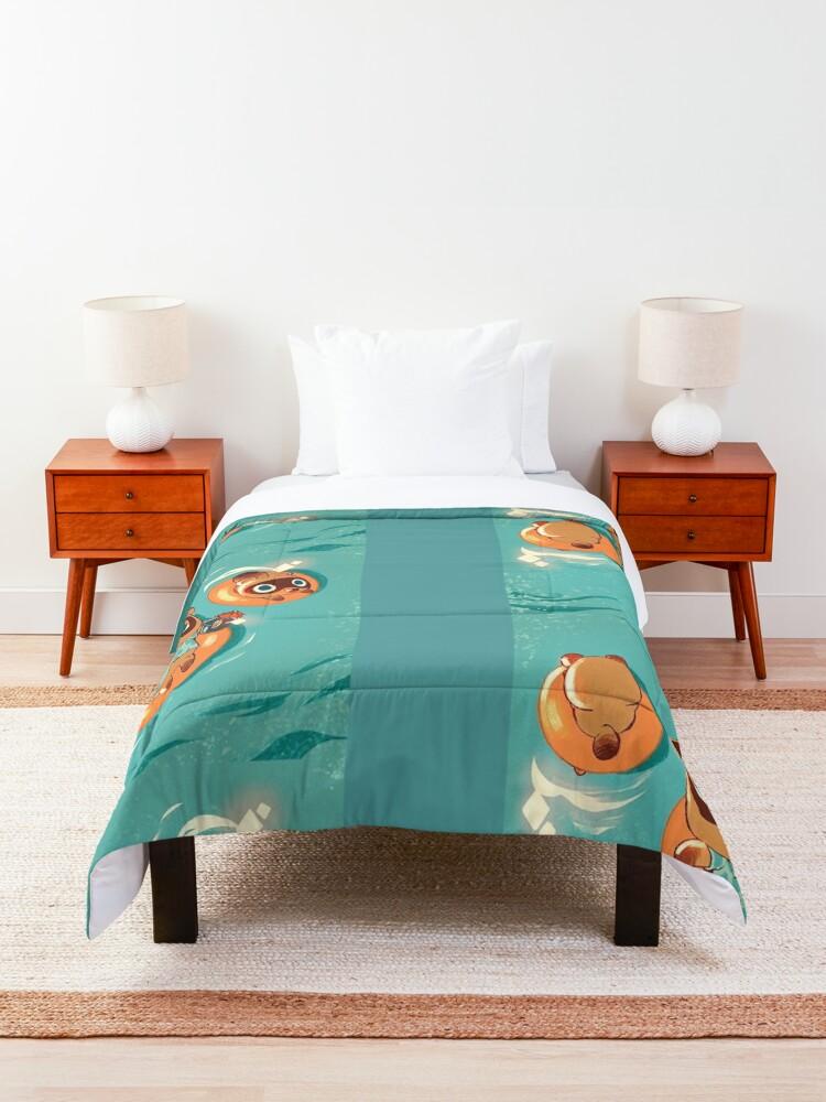 Alternate view of Animal Crossing Comforter