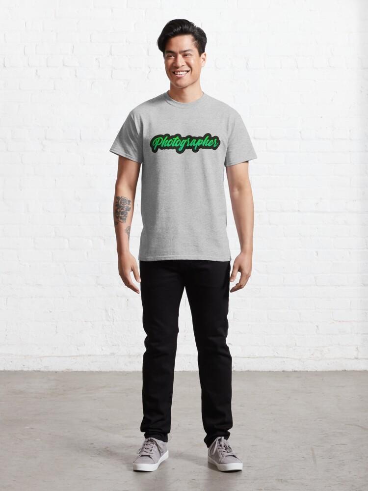 Alternate view of Photographer Green Classic T-Shirt