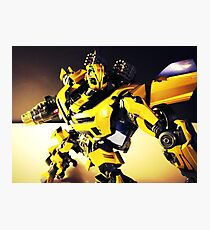 Transformers Bumblebee Photographic Print