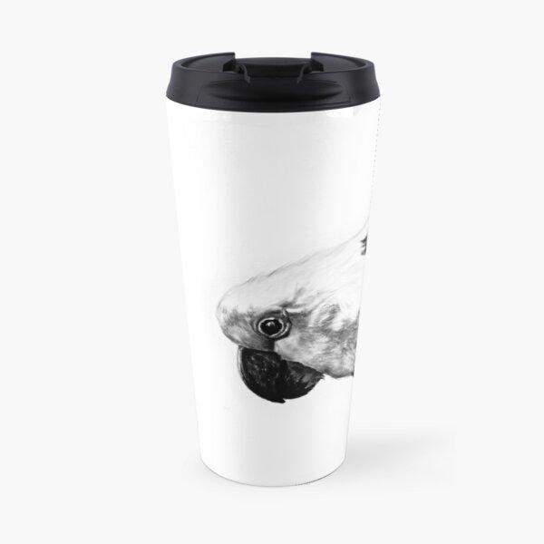 Sulfur Crested Cockatoo  Travel Mug