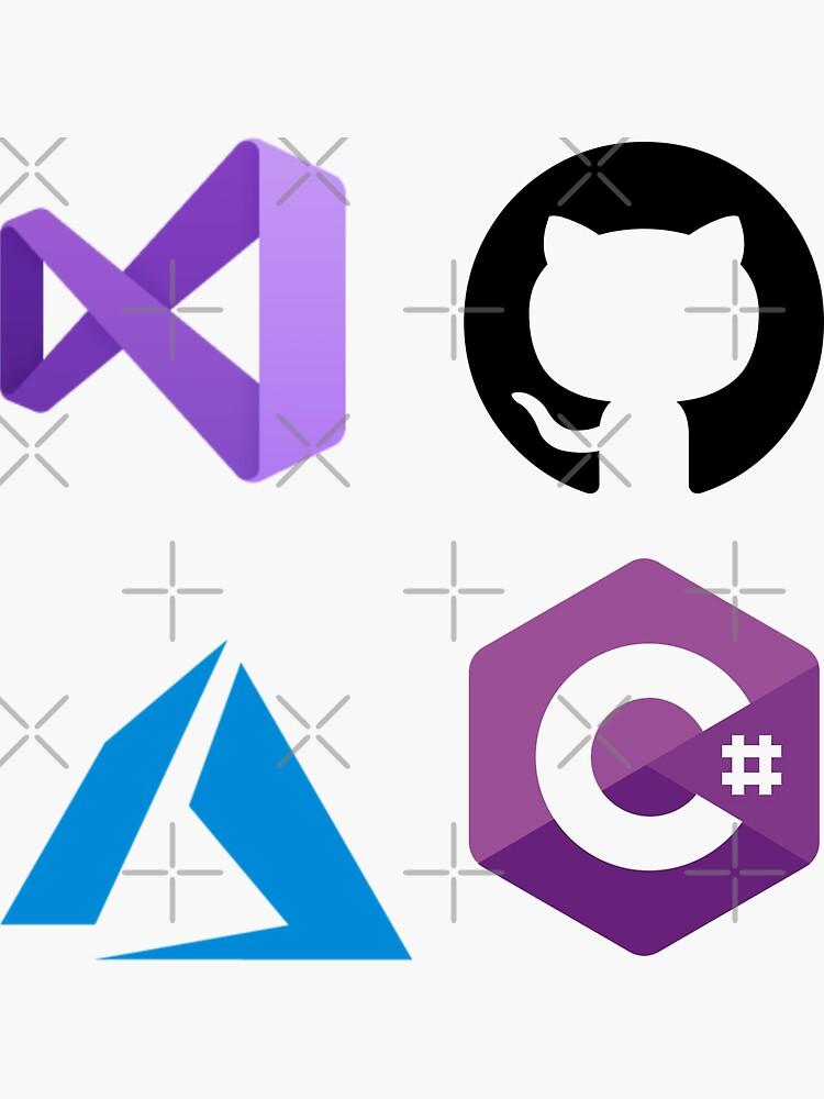 Microsoft Developer Sticker Set by dtor5