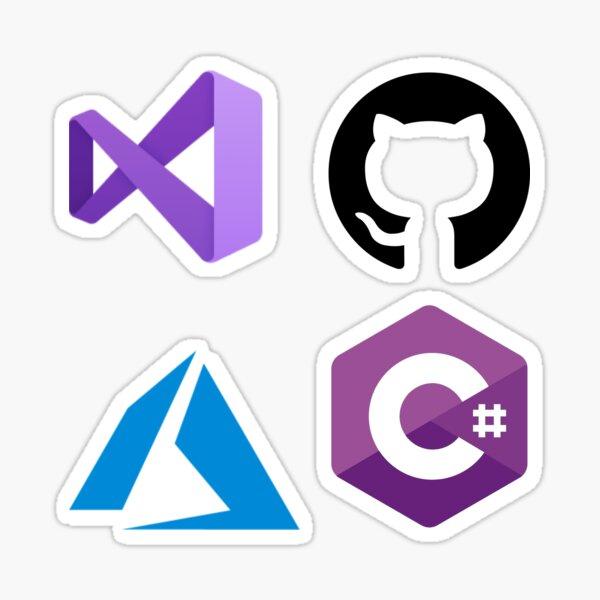 Microsoft Developer Sticker Set Sticker