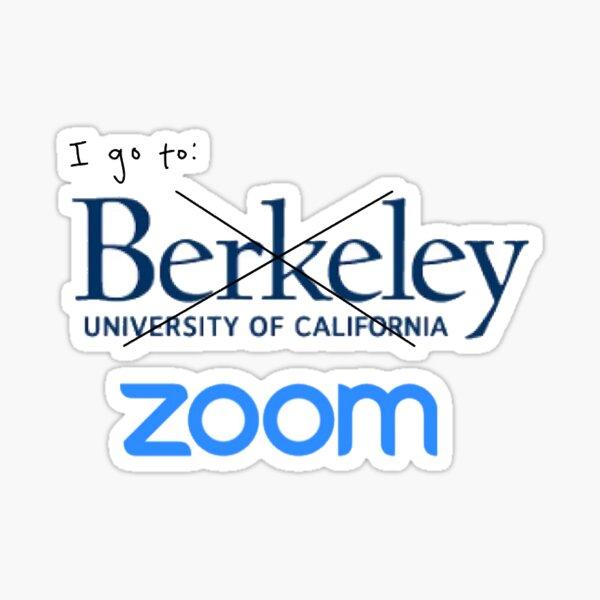 Berkeley Zoom University Sticker Sticker