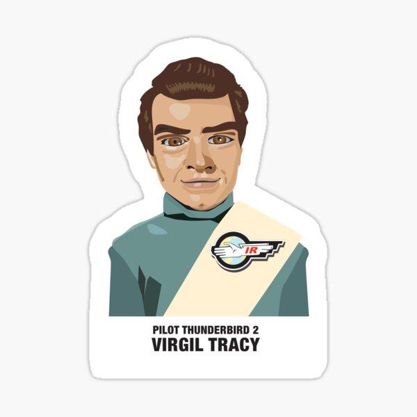 Virgil Tracy Pegatina