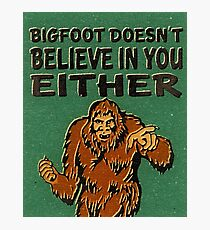 Bigfoot Photographic Print