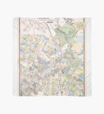 Vintage Map of Los Angeles CA (1884) Scarf