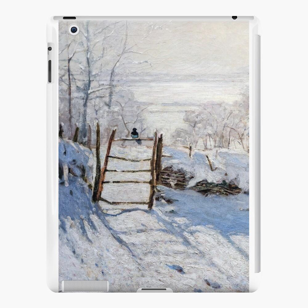 Die Elster - Claude Monet - 1869 iPad-Hüllen & Klebefolien