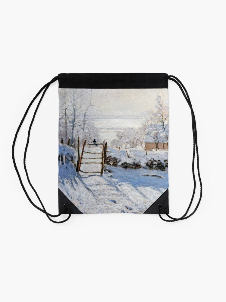 Alternative Ansicht von Die Elster - Claude Monet - 1869 Turnbeutel