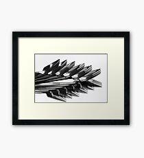 ^^^ Fork Off ^^^ Framed Print