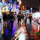 Shopping in Surburbia with the lights on by Sherion