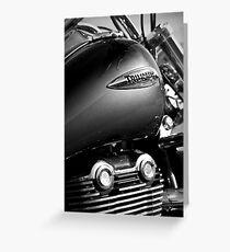 Triumph Thunderbird Greeting Card