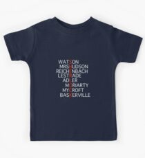 Sherlock - Acrostic Design Kids Clothes
