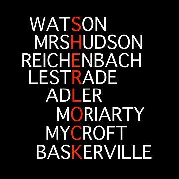 Sherlock - Acrostic Design by Llyrcial