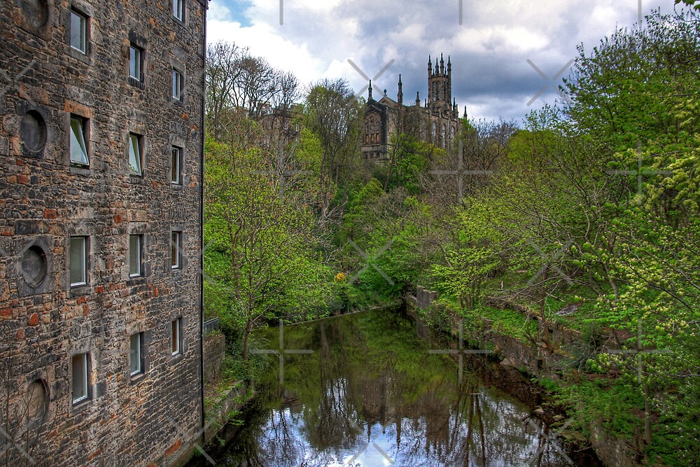 Holy Trinity from Dean Village by Tom Gomez
