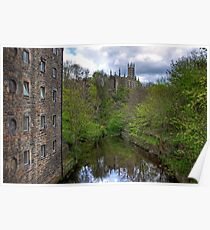 Holy Trinity from Dean Village Poster