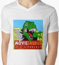 The Moviesaurus Rex Podcast Cover Art T-Shirt