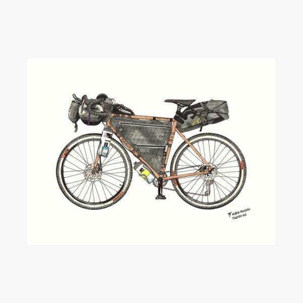 Tour Aotearoa 2020 - My Bikepacking Rig Art Print