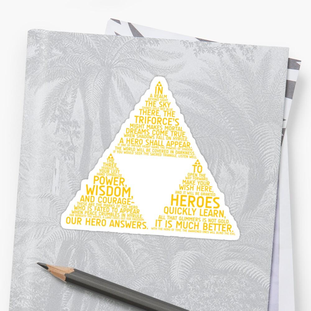 Legend of Zelda Typography by TitanVex
