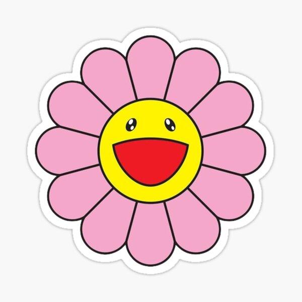 Takashi Murakami Rosa Blume Sticker