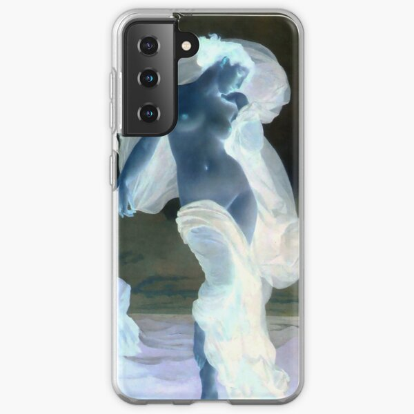 Evening Mood painting by William-Adolphe Bouguereau Samsung Galaxy Soft Case