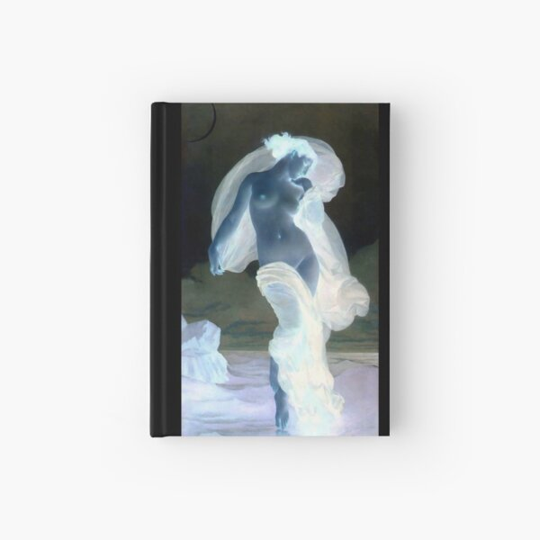 Evening Mood painting by William-Adolphe Bouguereau Hardcover Journal